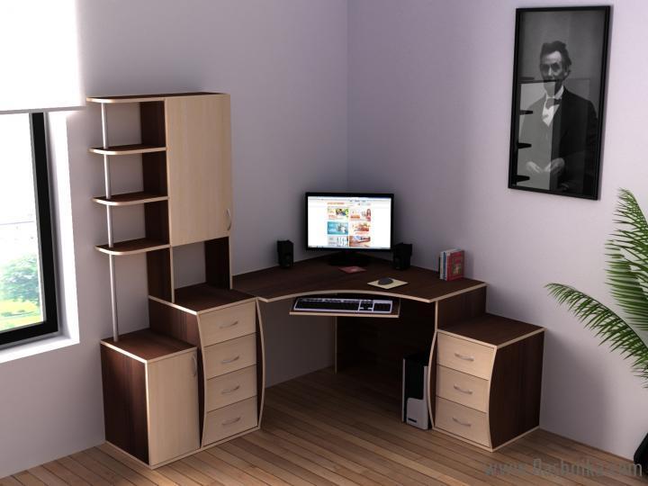 угловой стол для компьютера в интернет-магазине