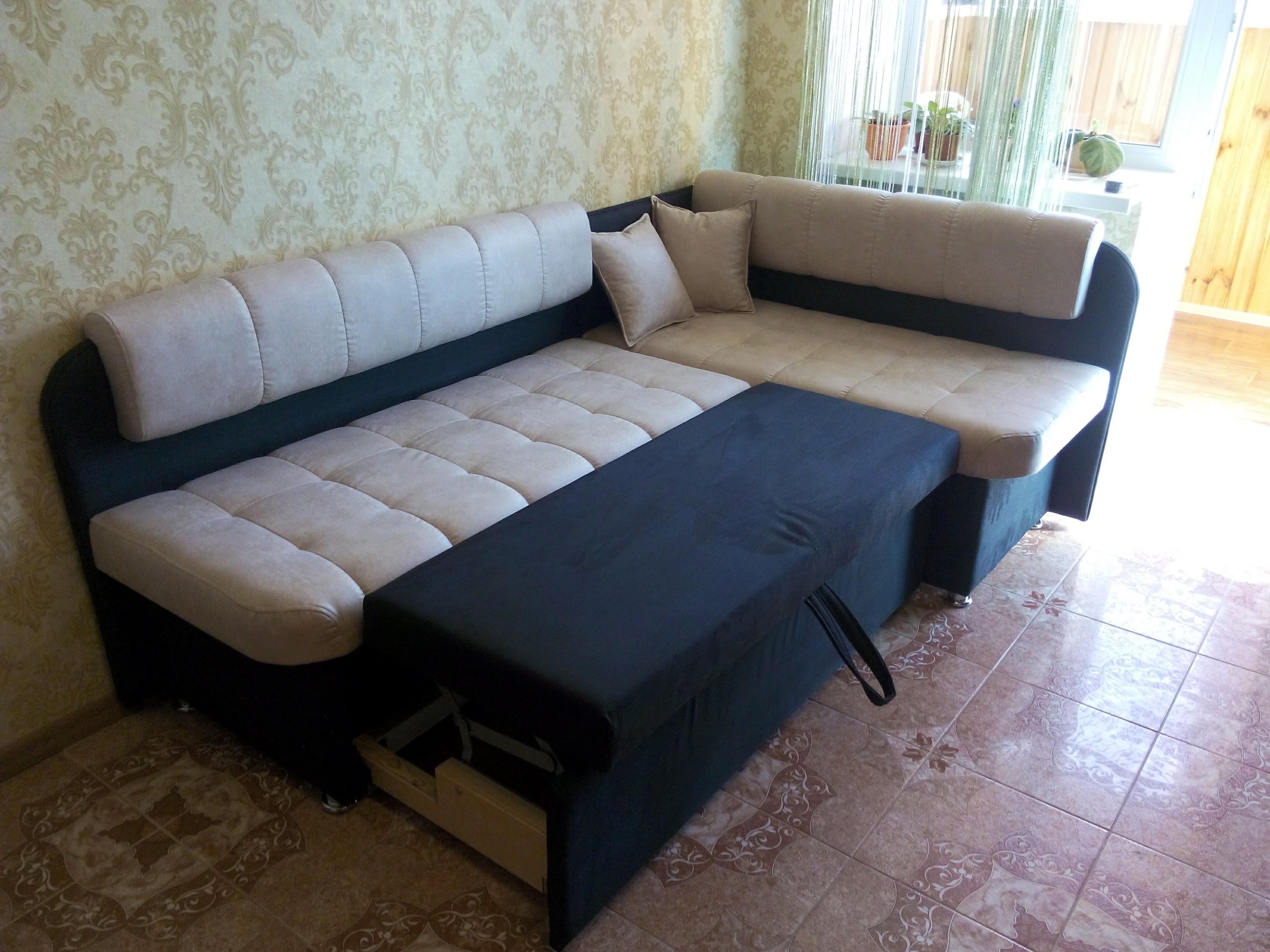 кухонный диван со спальным местом Вавилон