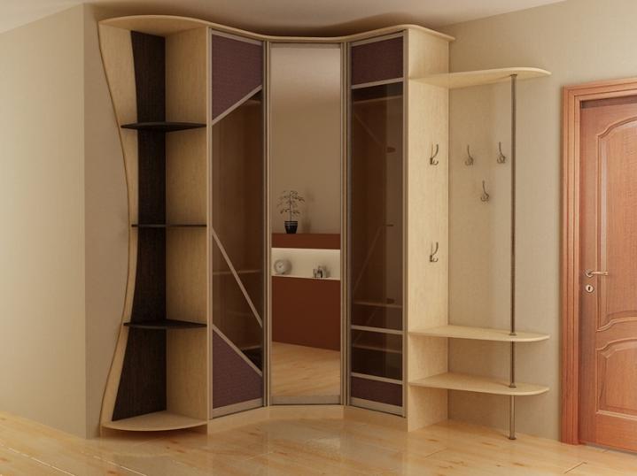 шкафы фото угловые