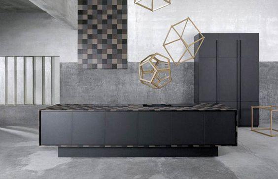Designer überarbeitete Möbel im Loft-Stil