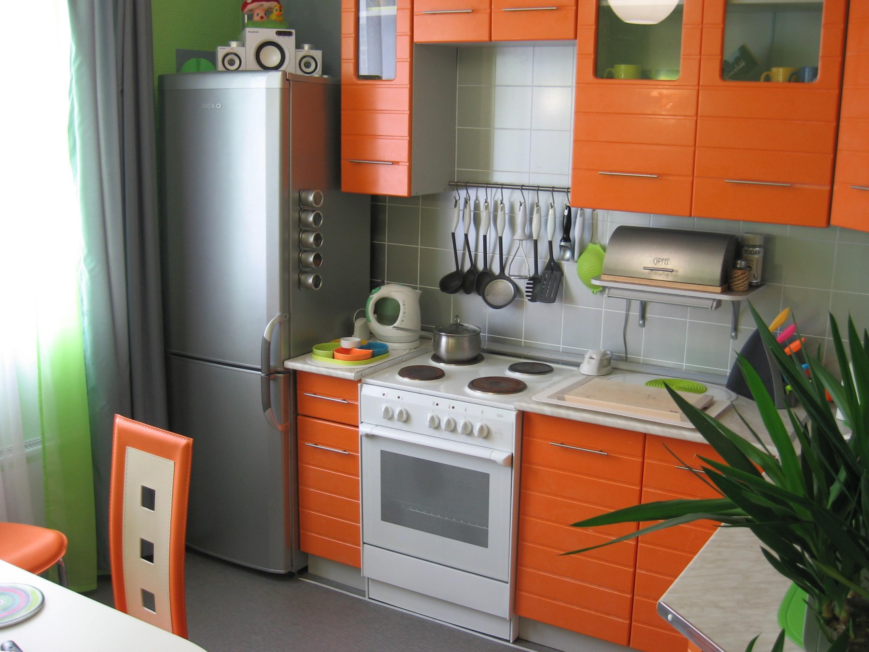 Интерьер маленькая кухня
