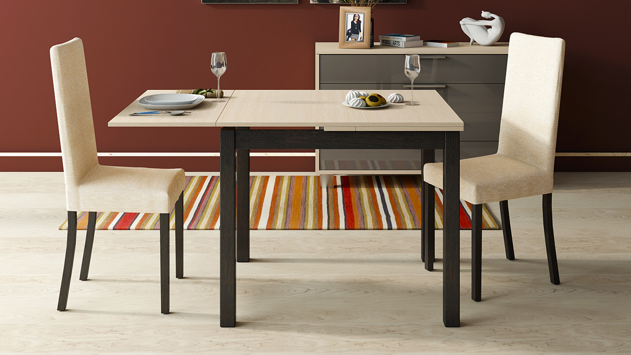Стол обеденный раздвижной B179-76. Обзор стола для кухни от amf ...